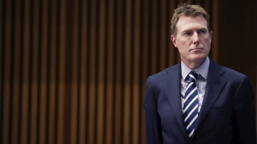 Industrial Relations Minister Christian Porter.