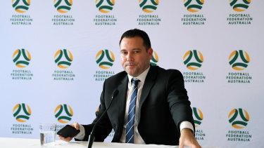 FFA chief executive James Johnson.