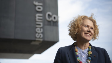 Going, but won't be forgotten: Liz Ann Macgregor leaves the MCA.