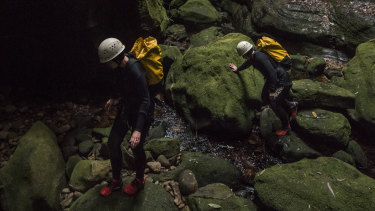 Canyoning has grown in popularity, but can be dangerous following rain.