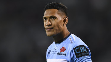 Israel Folau is to be issued a breach notice by Rugby Australia for his controversial social media activity.