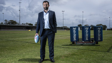 Waratahs CEO Andrew Hore joined NSW Rugby in 2016.