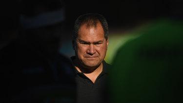 Wallabies coach Dave Rennie gets his first big test on Sunday.
