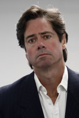AFL chief Gil McLachlan.