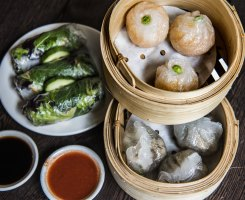 Yum Cha at Bodhi Restaurant in Sydney.