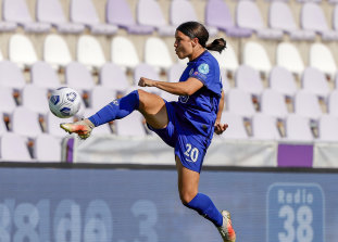 Matildas star Sam Kerr is contracted to Chelsea, which is set to join the breakaway Super League.