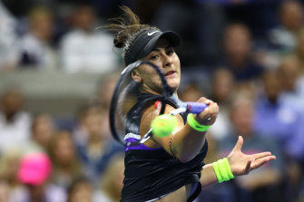 Canadian Bianca Andreescu has high ambitions, and shows every prospect of realising them.
