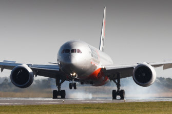 The grounding of many commercial planes has seen a massive drop in carbon emissions.