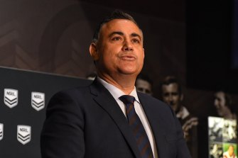 NSW Deputy Premier John Barilaro isn't happy with the Sydney Opera House Trust.