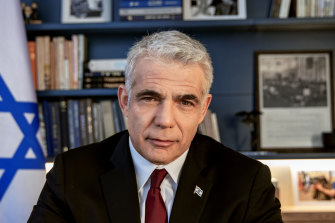 Yair Lapid Lapid has 28 days to try to form a coalition.
