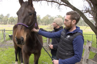 SAS medic turned army sergeant Dusty Miller who, with SAS psychologist Mark Mathieson, has launched Mounted Missions to try to help soldiers traumatised by their experiences.