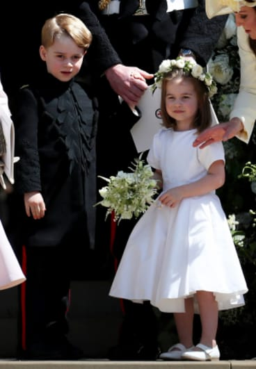 Prince George and Princess Charlotte stole the show at both royal weddings this year.
