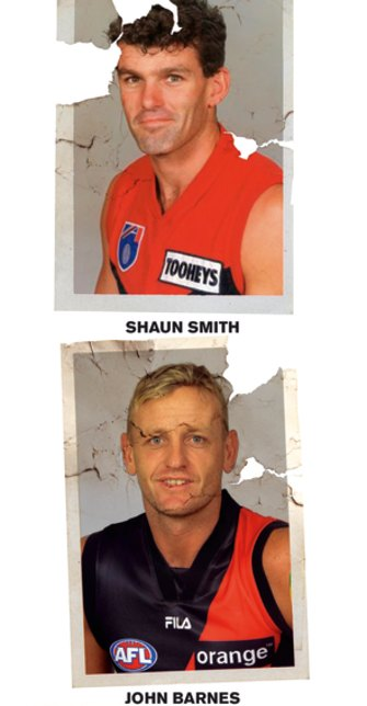 Two of the ex-players set to feature in a suit against the AFL for being allowed to play while injured.