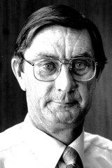 John Turner pictured in 1985.