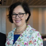 Ros Moriarty, managing director of Aboriginal design studio Balarinji.