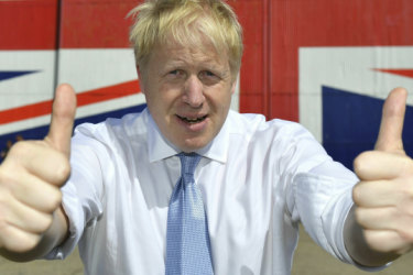 From Brexit's buffoon to Downing St: Boris Johnson's irresistible rise
