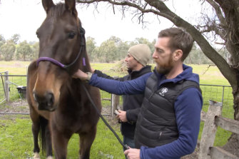 SAS medic turned army sergeant Dusty Miller who, withSAS psychologist Mark Mathieson has launched Mounted Missions.