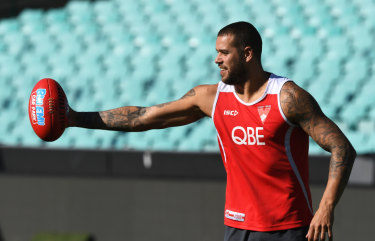 It's been 10 years since a player (Buddy Franklin) cracked the ton in a season.
