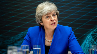 British Prime Minister Theresa May concedes that constant speculation about her leadership is a distraction from the business of Brexit.