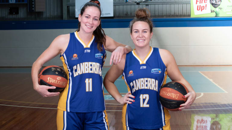 Keely Froling and Kate Gaze starred for the Capitals Academy.