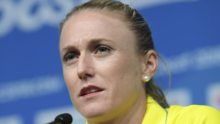 On board: Sally Pearson