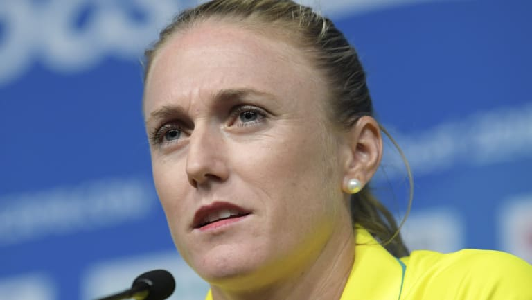 Unable to compete: Sally Pearson.