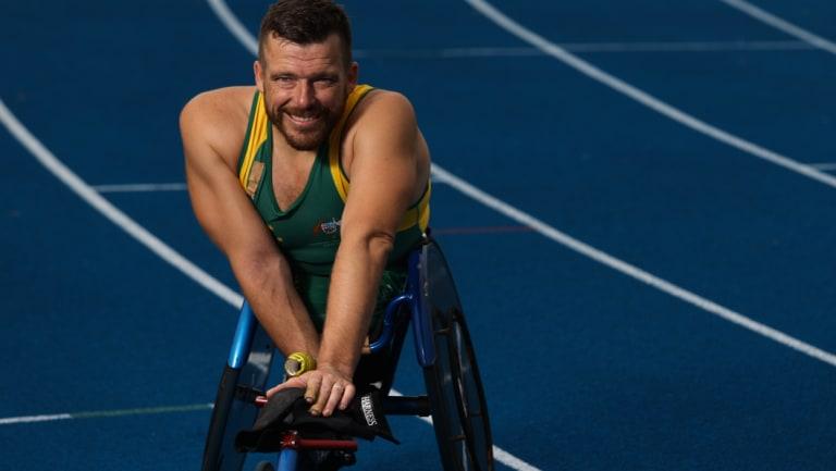 Paralympian Kurt Fearnley.