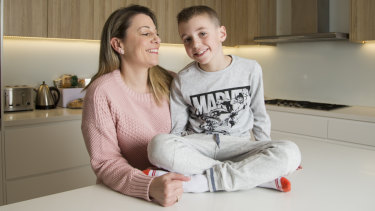 Jenny Ayoub says life changed dramatically  after her son Oscar developed anaphylaxis.
