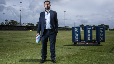 "Waratahs CEO Andrew Hore told NSWRU board members in an email that he is ""unhappy with the direction that is being taken""."