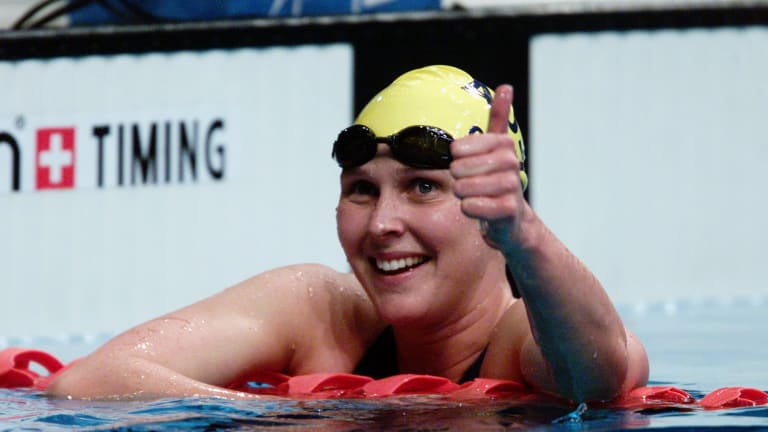 """""""Madame Butterfly"""" Susie O'Neill."""