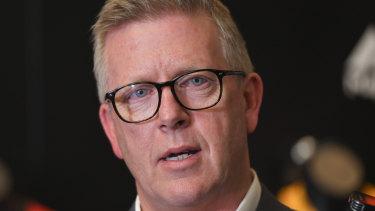The AFL's footy boss Steve Hocking.