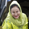 Wife of former Malaysian PM Najib arrested in graft scandal