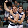 As it happened: Cameron's five goals help Cats down Power in wildly see-sawing clash