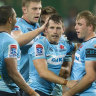 'We didn't try to find another Folau': How Waratahs beat the Rebels