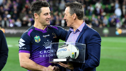 Bellamy hails Cronk as superstar announces retirement