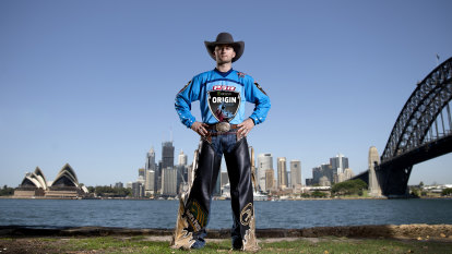 State against state, man against beast: bull riding gets Origin buzz