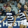 Geelong prevail at home as Essendon head in right direction