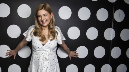 Lucy Durack juggles the mother load in Shrek the Musical
