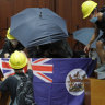 Hong Kong is unlikely to win this war with China