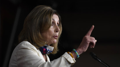 Pelosi says Trump will be 'fumigated out' if he refuses to leave after White House loss