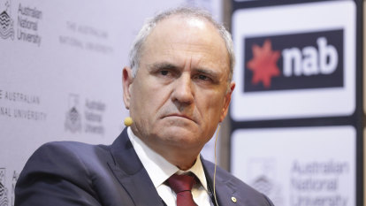 NAB chairman Ken Henry calls on other bosses to face the music