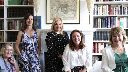 The five female faces honouring the Australian nurses of Lemnos