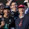 Hamilton says Lauda was his 'bright light'