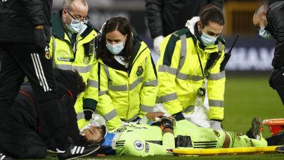 Sickening head injury overshadows Liverpool victory