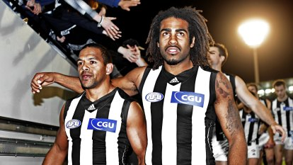Leon Davis says Collingwood must confront the truth about their past