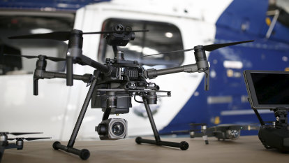 Spies in the skies: WA Police to hit criminals with surveillance drone force
