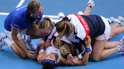 Australia fall short in bid for a historic Fed Cup win