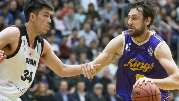 Bogut makes cameo debut for Sydney Kings in victory over Japan