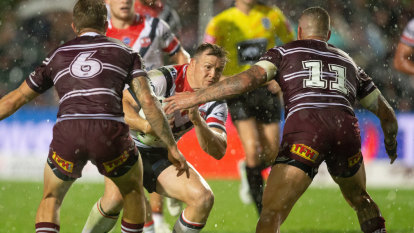 Robinson takes aim at Brookvale surface after Brett Morris injury