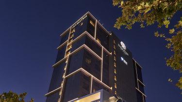 The new Doubtletree Hilton.